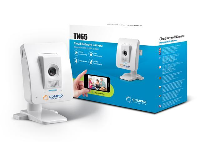 Compro TN65 Megapixel/HD H.264 Cloud Network Camera