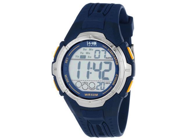 Timex #T5K681 Men's Full Size INDIGLO? Multi Function Digital Sports Watch