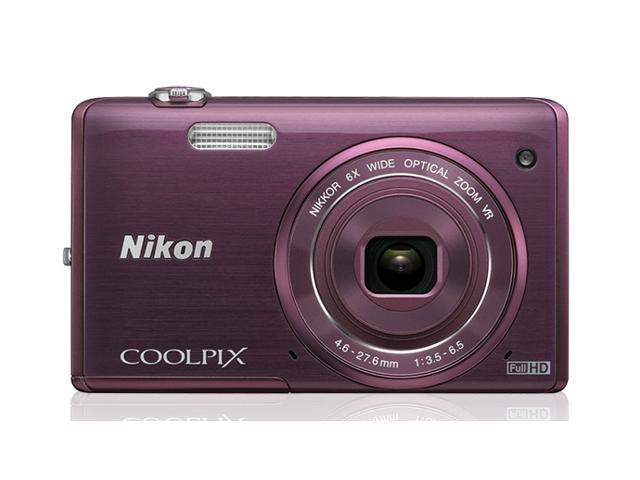 Nikon COOLPIX S5200 Wi-Fi CMOS Digital Camera with 6x Zoom Lens & 3