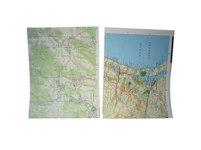 JAM Paper® - 8 1/2 X 11 Map Paper (made from real maps) - 100 sheets per pack