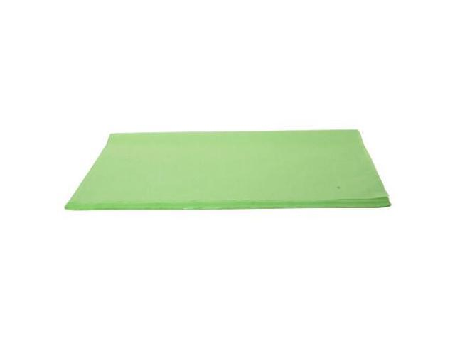 JAM Paper® Tissue Paper - Lime Green Kiwi Frost Metallic - 100 sheets per pack