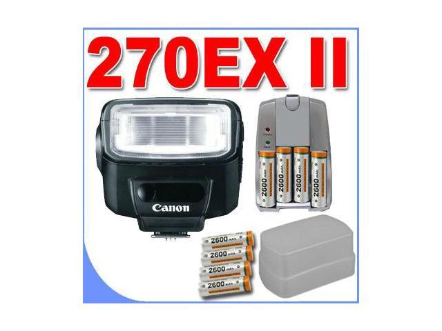 Canon Speedlite 270exii Flash For Canon Digital Slr Cameras Accessory Saver Bundle