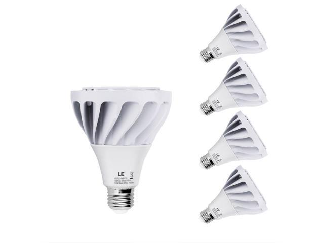 LE 14W Dimmable PAR30 E26 LED Bulb, 120W Halogen Bulbs Equivalent, Warm White, 1050lm, 24° Beam Angle, Spotlights, Recessed Lights, Track Lights, ...