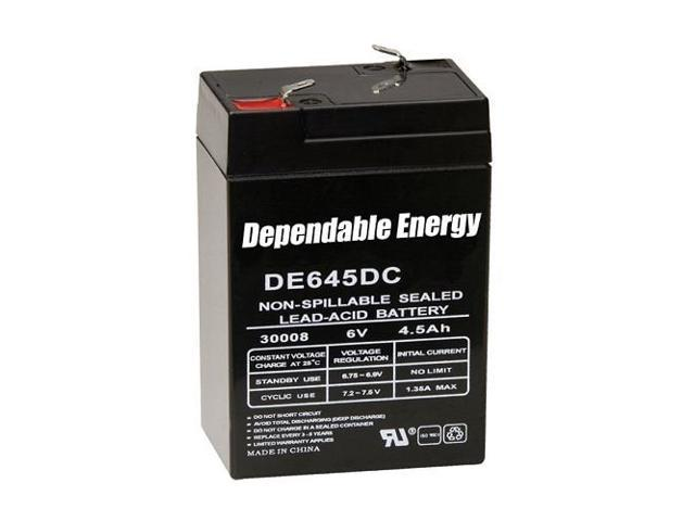 American Hunter DE645DC/6V 4.5 AMP HR Rechargeable Battery DE-30008