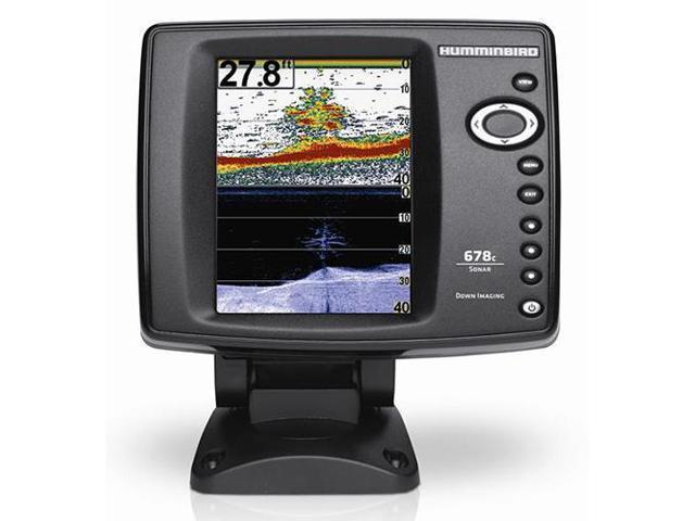 Humminbird 678c HD DI Fishfinder w/Down Imaging TM Transducer