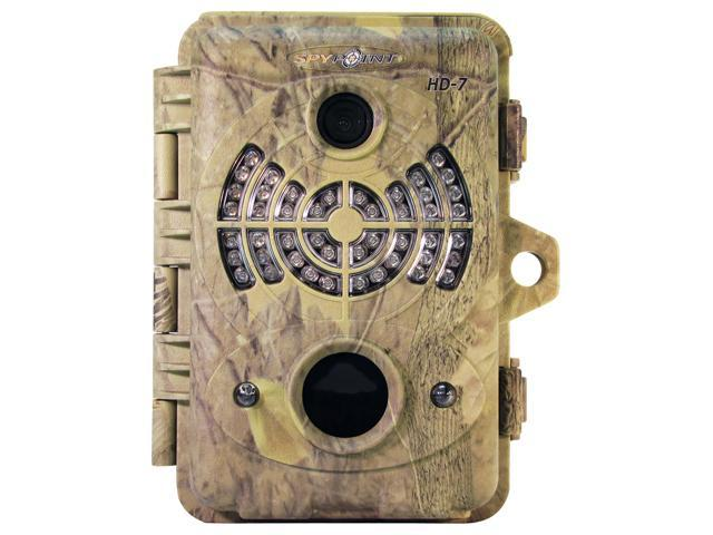 SPYPOINT 7MP 46 Infrared LED's HD Video Outlet w/ Sound Game Camera HD-7