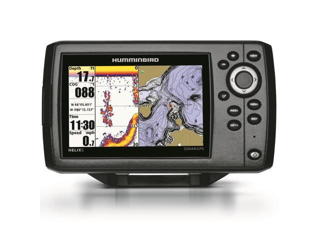 Humminbird Helix 5 Sonar GPS PT Fishfinder 409720-1