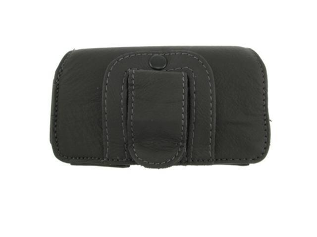 Two Leather Pouch Protective Carrying Cell Phone Case compatible with Motorola Droid Pro