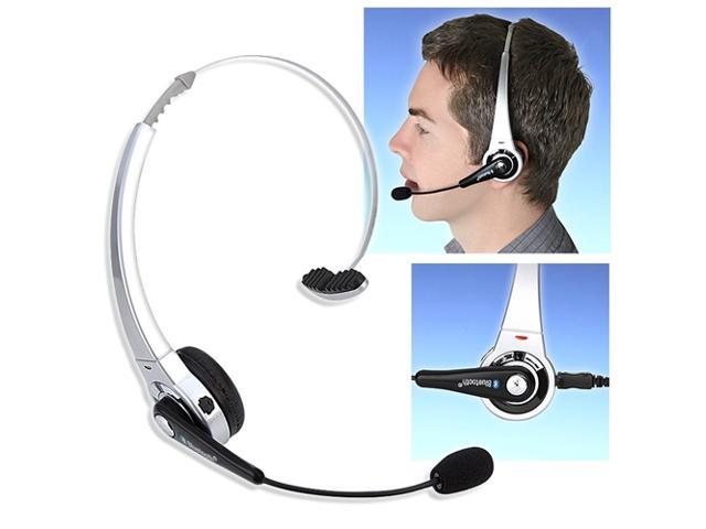 2pk Silver Wireless Bluetooth Headset For Sony PS3 Slim