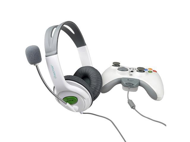 eForCity Headset w/ Mic Compatible with Microsoft Xbox 360 / Xbox 360 Slim