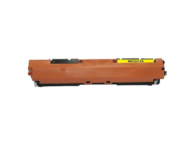 G&G 2-Pack Yellow Pmium Toner Cartridge Compatible With HP CE312A Canon 126A CLJ CP1025/1025nw