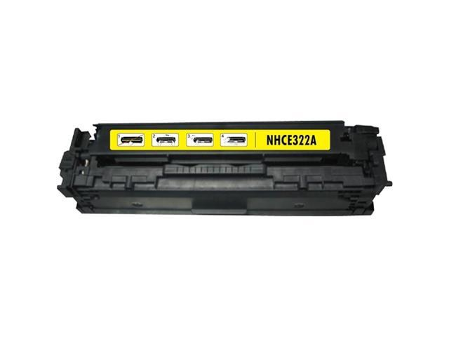 G&G 2-Pack Yellow Pmium Toner Cartridge Compatible With HP CE322A Canon 128A CLJ CM1415/1415fn
