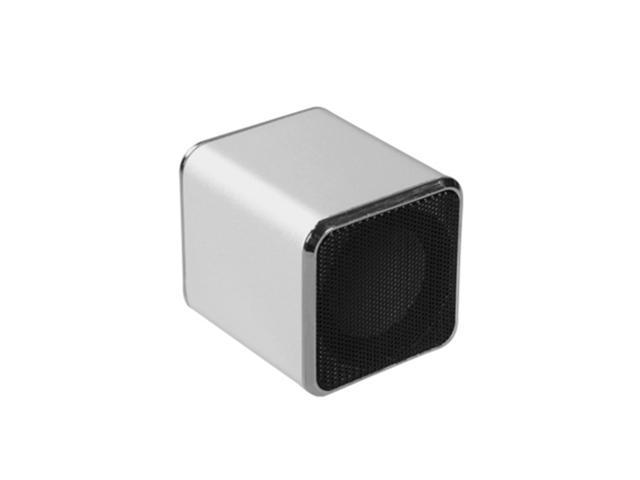MYBAT mini Silver Mobile Speakers-11 (with Package)