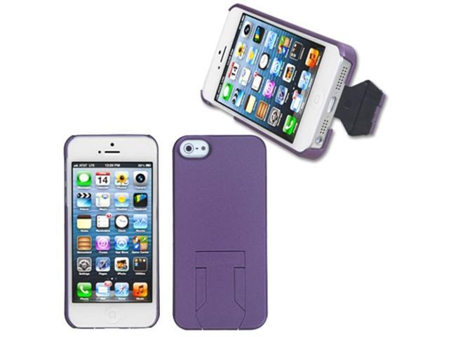 MYBAT Back Protector Case/With Stand compatible with Apple® iPhone 5 5S, Purple