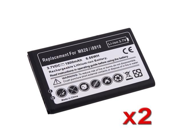 eForCity 2 packs of Li-ion Batteries Compatible with Samsung© Galaxy Prevail SPH-M820