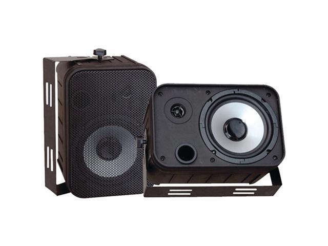 Pyle PDWR50B Pyle 6 5 black 500-watt indoor/outdoor waterproof speakers