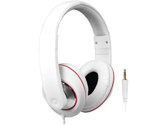 Dreamgear Dghp-4007 Ultimate Dj Style Headphones , White