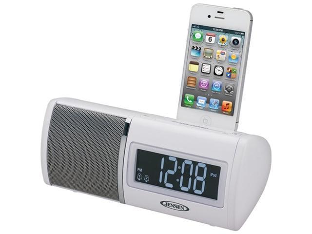 JENSEN jims-75i docking digital clock radio compatible with iPhone / ipod