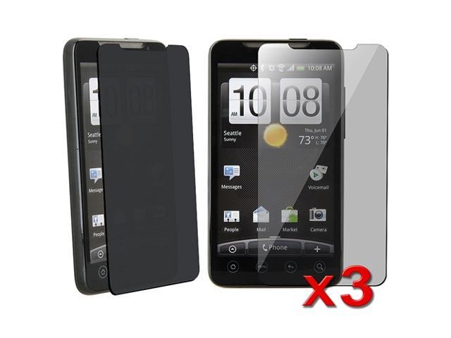 3 x Privacy Screen Filter compatible with HTC EVO 4G