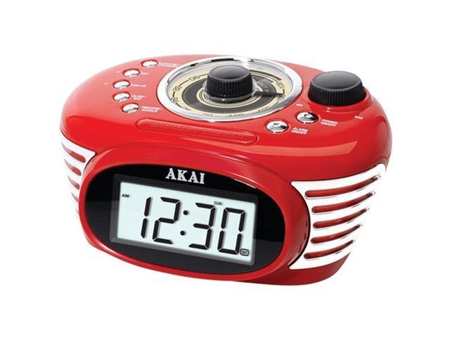 AKAI CE 1100 retro alarm clock radio