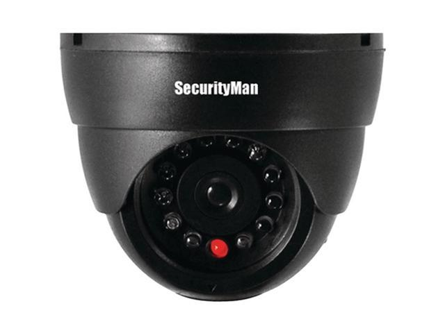 Security Man Sm-320S Dummy Indoor Dome Camera With Led