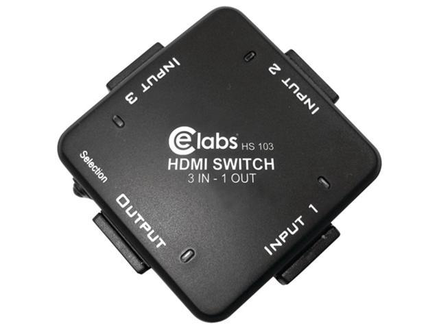 Ce Labs Hs103 3-In, 1-Out Auto Hdmi Switcher