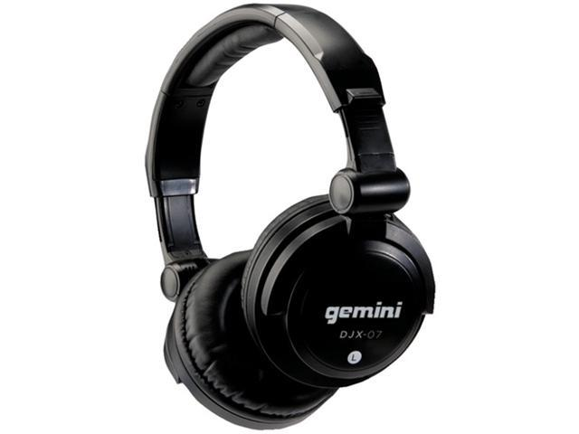 Gemini Djx-07 Professional Full-Size Dj Headphones
