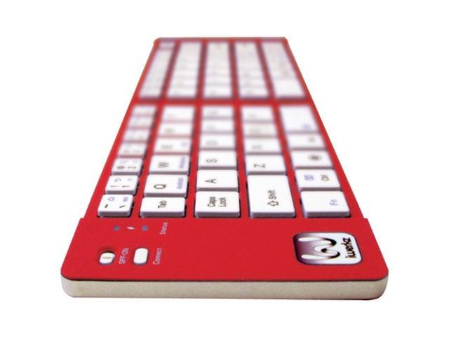 iWerkz 44652Rd Universal Foldable Bluetooth Keyboard (Red)