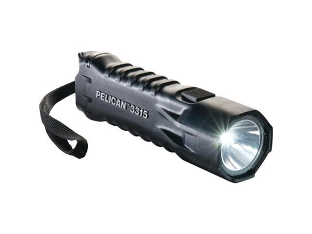 PELICAN 033150-0100-110 Compact High-Performance 113-Lumen LED Safety-Approved Flashlight (Black)