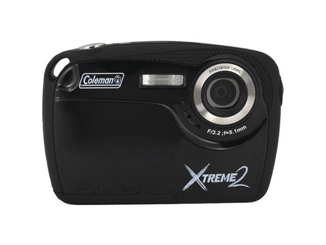 COLEMAN C12WP-BK 16.0 Megapixel Xtreme2 HD Underwater Digital Camera ,Black
