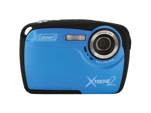 COLEMAN C12WP-BL 16.0 Megapixel Xtreme2 HD Underwater Digital Camera ,Blue
