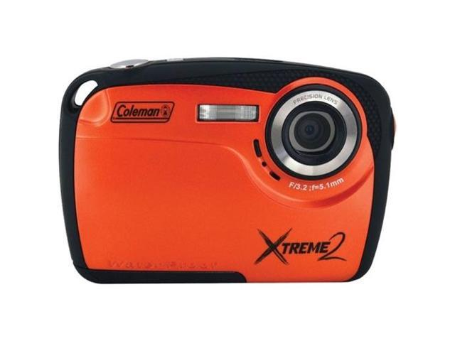 COLEMAN C12WP-O 16.0 Megapixel Xtreme2 HD Underwater Digital Camera ,Orange