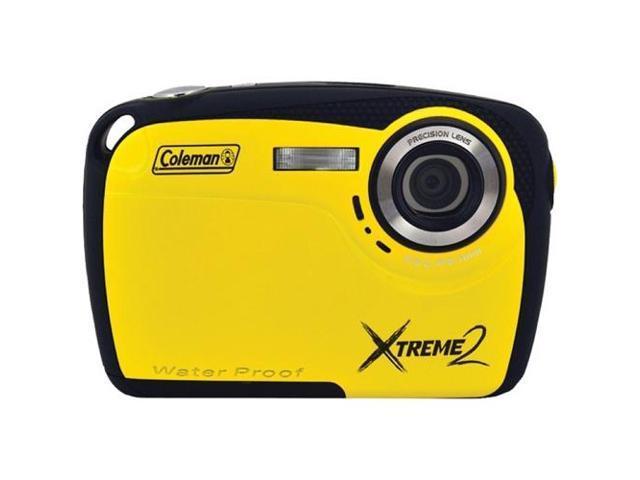 COLEMAN C12WP-Y 16.0 Megapixel Xtreme2 HD Underwater Digital Camera ,Yellow