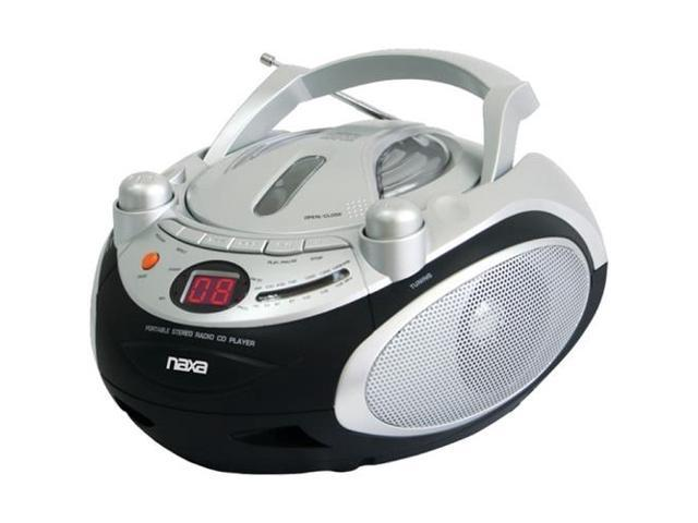 Naxa Npb245 Portable Cd Player & Am/Fm Radio