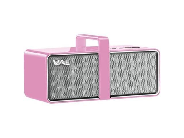 Hercules 4780747 Mini Portable Bluetooth Speaker ,Pink/White