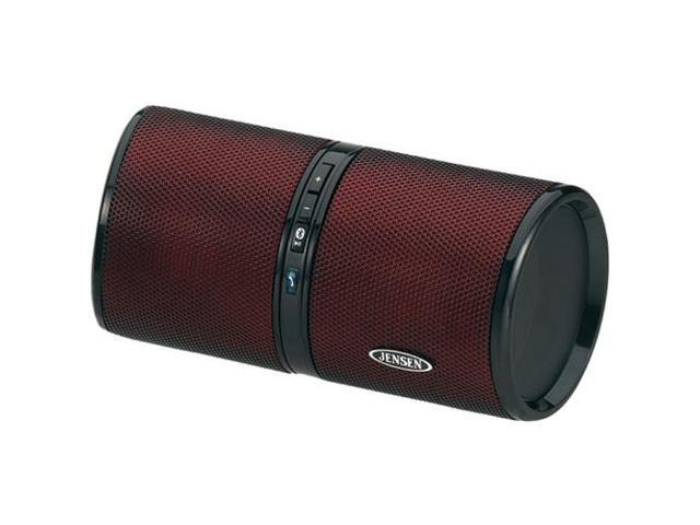 Jensen Smps-622-R Bluetooth Rechargeable Stereo Speaker ,Red