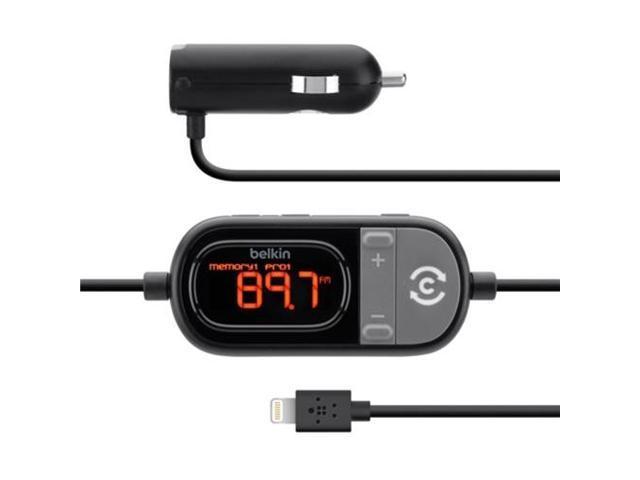Belkin TuneCast Auto Live FM Transmitter F8J055tt