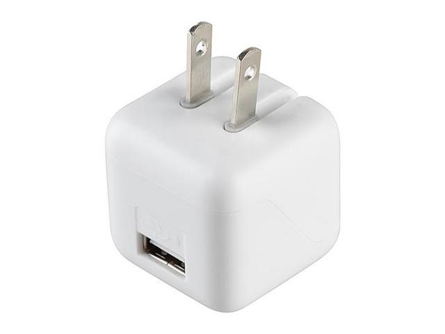 eForCity USB Mini Travel Charger Adapter, 2A White / White Compatible With Samsung Galaxy Tab 4 7.0 / 8.0 / 10.1