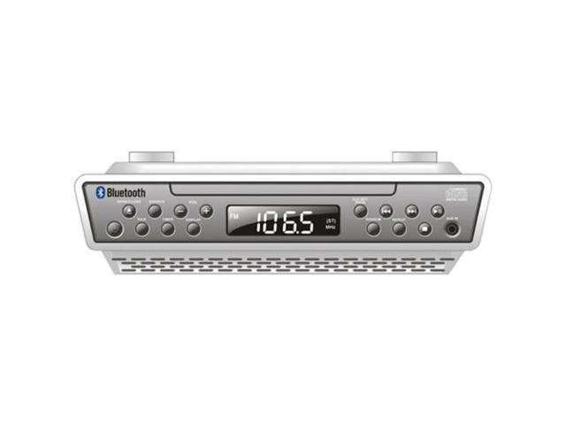 Sylvania SKCR2713 Under-Counter Bluetooth CD Clock Radio
