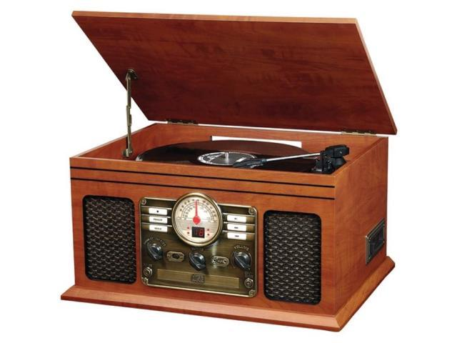 Innovative ITVS-200 Classic 5-in-1 Wooden Turntable & Music System