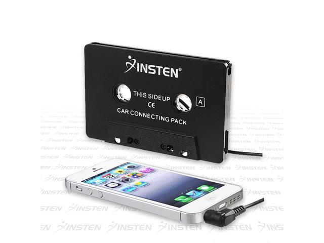 eForCity Car Audio Cassette Adapter For Apple iPhone 6, Black