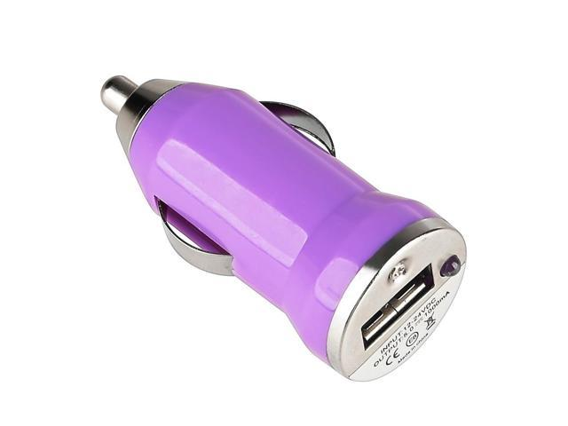 eForCity USB Mini Car Charger Adapter For Apple iPhone 6, Purple