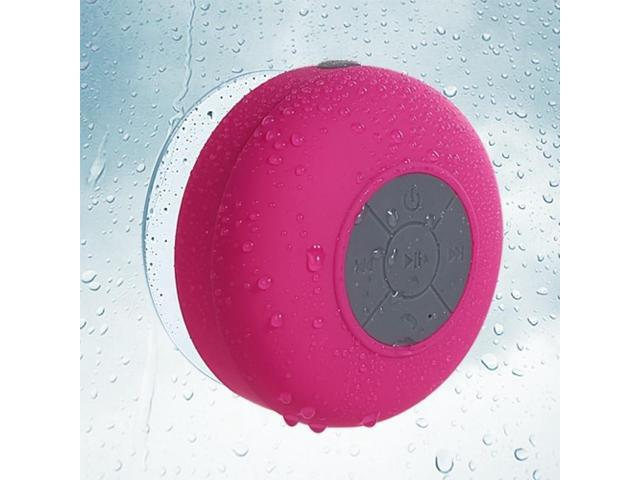 Hot Pink Mobile Wireless Speakers (with Suction Cup) -64