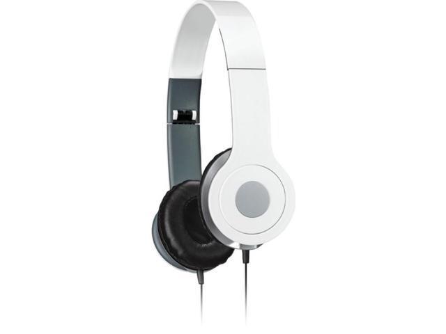 ILIVE iAH54W On-Ear Headphones (White)