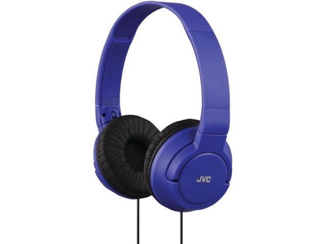 JVC HAS180-A-K Lightweight On-Ear Headphones (Blue)