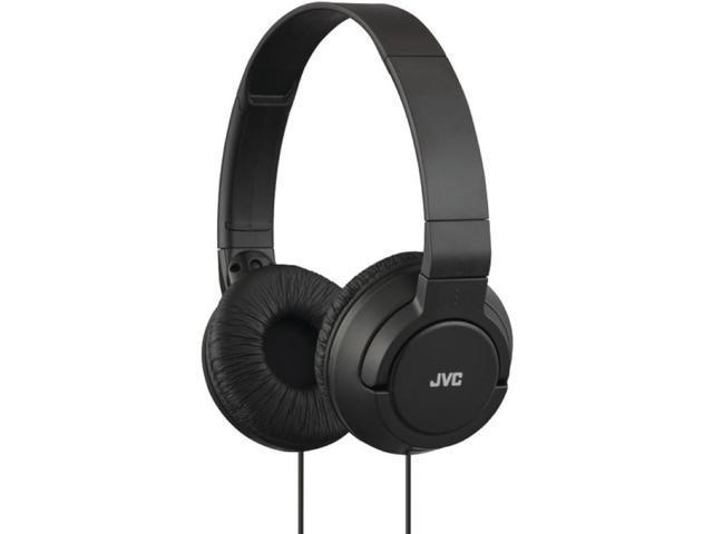 JVC HAS180-B-K Lightweight On-Ear Headphones (Black)