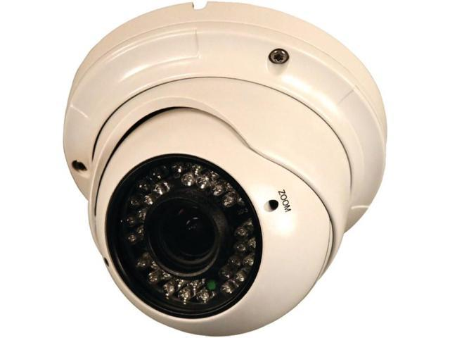 Security Labs SLC-182 800-Line Varifocal 2.8mm-12mm Turret Dome Camera with IR Cut Filter