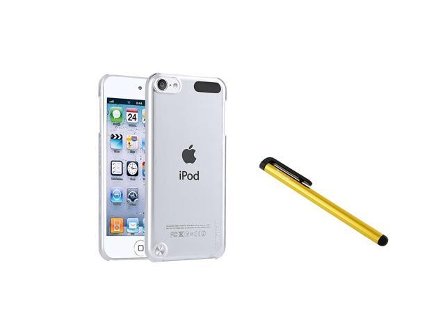 eForCity Clear Crystal Hard Case Cover + Clip Stylus For iPod Touch 5 5th Gen 5G