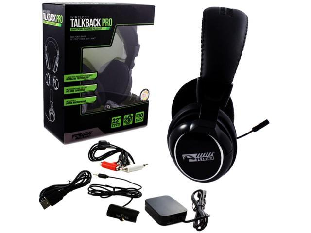 KMD Wired Professional Gaming Headset With Microphone ForPS3/Xbox 360/Mac/PC Black