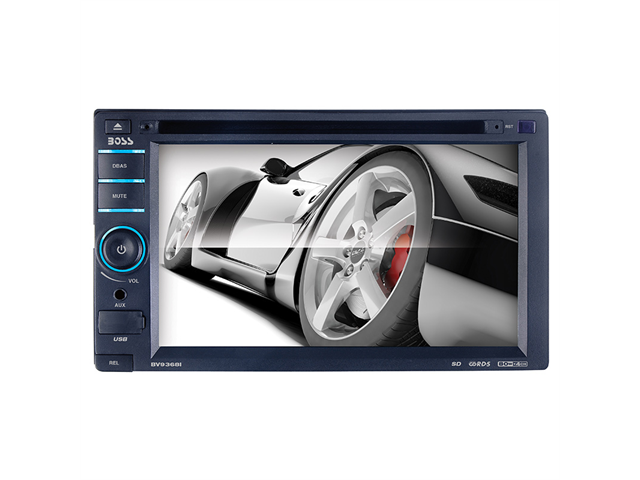 BOSS AUDIO BV9368I IN-DASH DOUBLE-DIN MEDIA PLAYER W/ 6.2